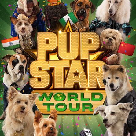 Película Pup Star Gira Mundial